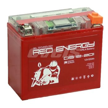 Red Energy DS12-201 (YTX20L-BS 20А/ч)